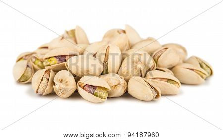 Heap Of Salted Pistachio