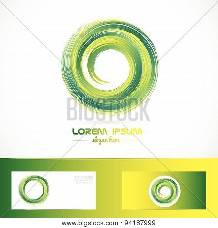 Green whirlpool logo