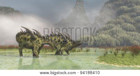 Gigantspinosaurus Dinosaurs
