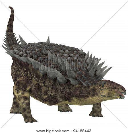 Hungarosaurus Herbivore Dinosaur