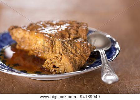 Creme Caramel Dessert