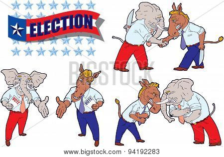United States political cartoons
