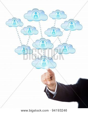 Accessing Human Resources In The Cloud.
