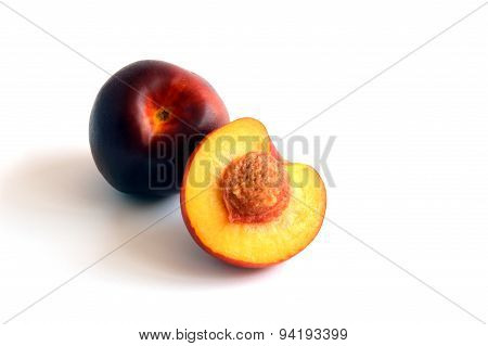 Bright, Fresh Smooth-Skinned Nectarine