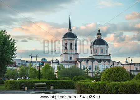 Image of Christian Church in Tomsk. Russia