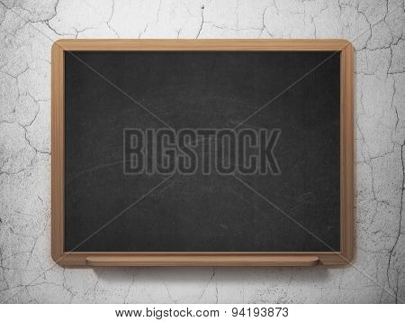 Law concept: paragraph icon on School Board background