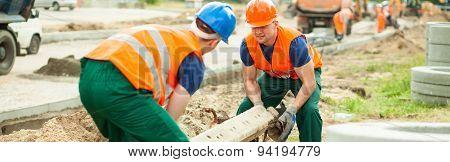 Heavy Cement Construction