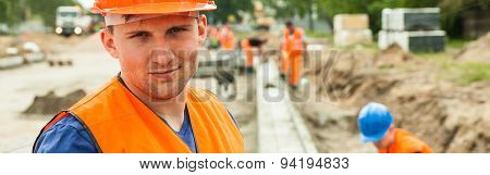 Content Construction Worker