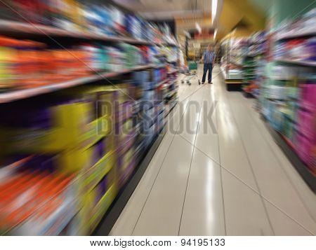 Consumer In The Supermarket