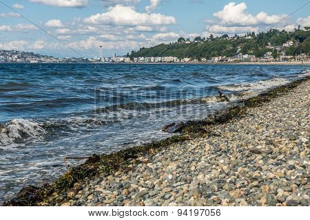 Alki Beach In West Seattle 2
