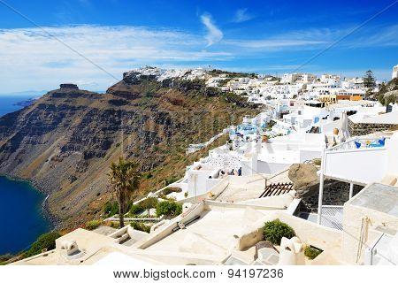 The Houses On Santorini Island, Greece