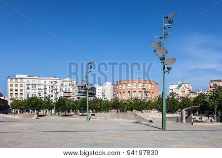 Square In Girona, Spain