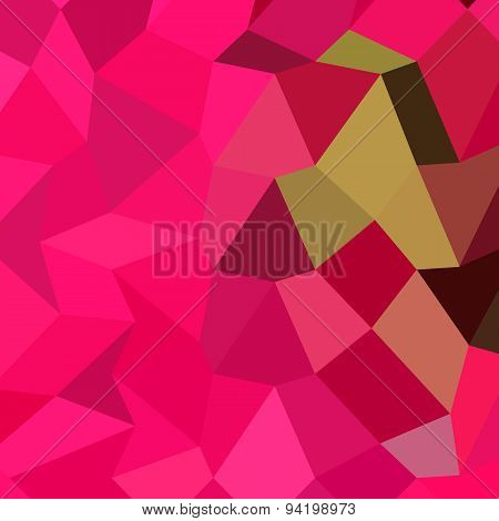 American Rose Abstract Low Polygon Background