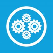 stock photo of four-wheel  - Image of four cogs in circle - JPG