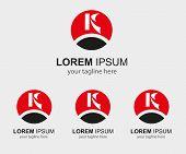 picture of letter k  - K letter logo  - JPG