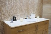 foto of cosmetology  - Interior of a cosmetology office - JPG
