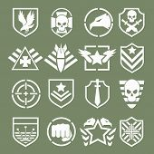 picture of special forces  - Military logos of special forces set - JPG