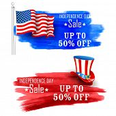 picture of uncle  - illustration of Fourth of July background for Happy Independence Day of America - JPG