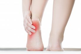 picture of chiropractor  - Pain in the foot - JPG
