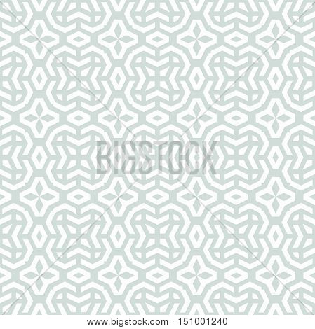 Seamless geometric pattern by stripes. Modern background with repeating lines. Seamless geometric background. Light blue and white pattern