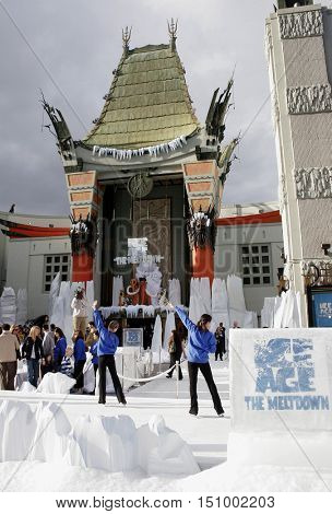 The World premiere of 'Ice Age 2: The Meltdown' held at the Grauman's Chinese Theater in Hollywood, USA on March 19, 2006.