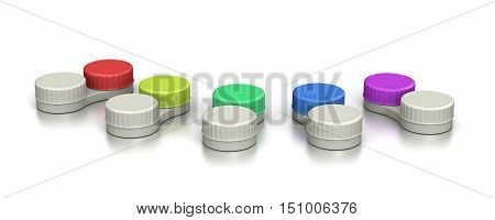 Contact Lens Containers Set
