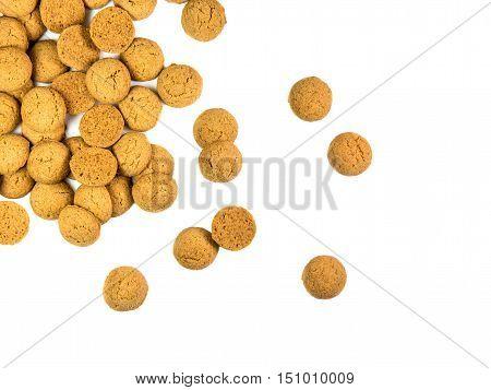Scattered Bunch Of Pepernoten Cookies