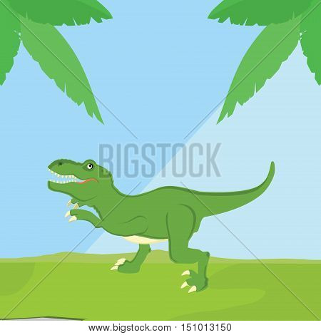 T-rex Dinosaur Vector