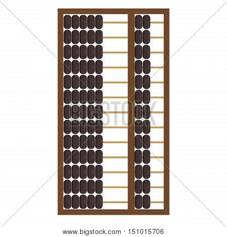 Wooden Abacus Icon