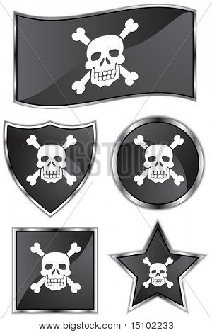 Pirate Flag Set