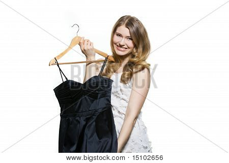 Young Woman With Dress