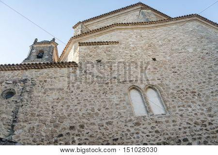 Cuenca (Castilla-La Mancha Spain) historic church in the oldest part of the city