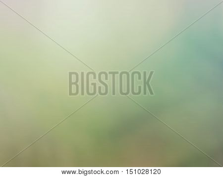 Green beige haze colored bastract blurred background