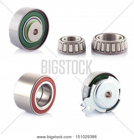 Photo automotive bearing on a white background.