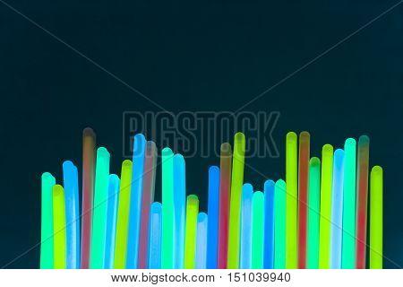 colorful neon light fluorescent disco bright ultraviolet