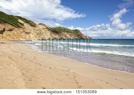 Grande Anse bay and beach, Terre-de-Haut, Les Saintes, Guadeloupe archipelago