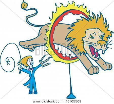 Lion, Tamer