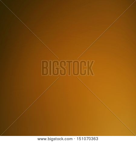 Smooth abstract blur background with gradient effect. Blurry festive background. Caramel camel color