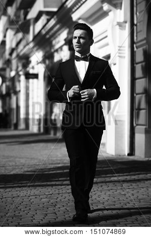 Young Man In Suit