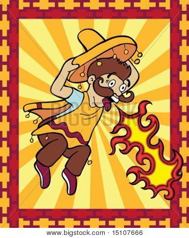 Super Hot Mexican Food