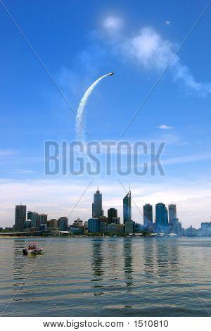 Perth aire raza avión escalada
