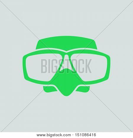 Icon Of Scuba Mask