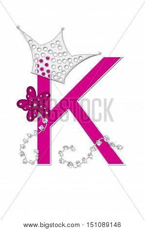 Alphabet Pageant Queen K