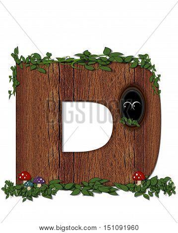 Alphabet Log D