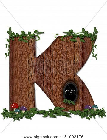 Alphabet Log K