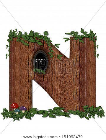 Alphabet Log N