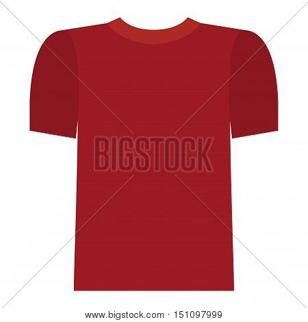 Male tshirt cloth icon. Fashion style and wear theme. Isolated design. Vector illustration