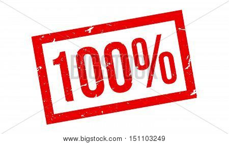 100 Percent Rubber Stamp