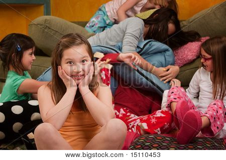 Overwhelmed At A Sleepover