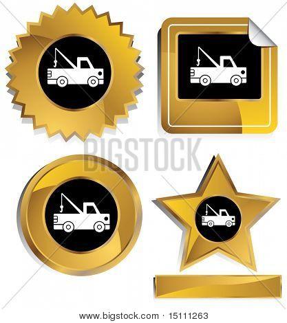 sello de camiones de remolque